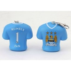 MANCHESTER CITY STRESS KEYRING