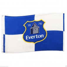 EVERTON FC OFFICIAL FOOTBALL FLAG 5FT x 3FT BODY FLAG BLUE & WHITE