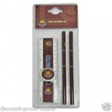 WEST HAM UNITED 5 PIECE CORE STATIONERY SET