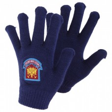 WEST HAM UNITED KNITTED GLOVES