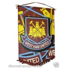 WEST HAM UNITED LARGE PENNANT