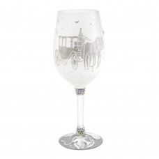 LOLITA HAPPY EVER AFTER (FOR HER) WINE GLASS