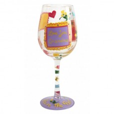 LOLITA NO 1 GRANDMA  WINE GLASS