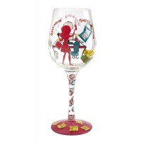 LOLITA 24/7 SUPER MUM (WORKING MUM) WINE GLASS