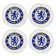 CHELSEA 4 PACK GLASS COASTERS