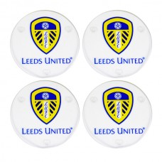 LEEDS UNITED 4 PACK GLASS COASTERS