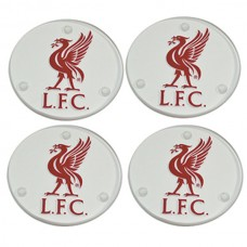LIVERPOOL FC 4 PACK GLASS COASTERS