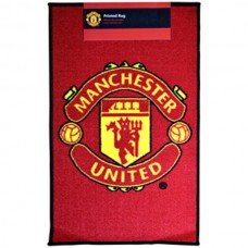 MANCHESTER UNITED PRINTED CREST RUG