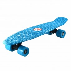 "22 "" RETRO SKATEBOARD. ECO 360 SKATE BOARD BLUE"