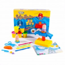 FUN TIME PLAY DOUGH HAIR STUDIO HAIRDRESSER CHILDRENS KIDS MODELLING KIT