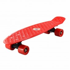 "22 "" RETRO SKATEBOARD. ECO 360 SKATE BOARD RED"