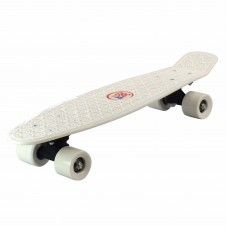 "22 "" RETRO SKATEBOARD. ECO 360 SKATE BOARD WHITE"