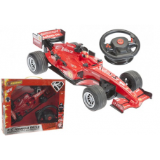B/OP FF RADIO CONTROL FORMULA RACER WITH STEERING WHEEL