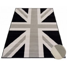 UNION FLAG MONOCHROME LODGE RUG 120CM X 170CM